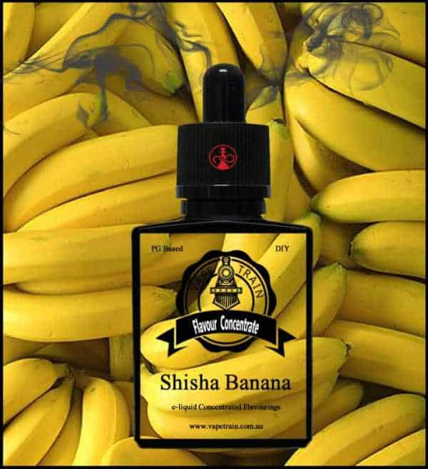 VTA Shisha Banana Flavour Concentrate DIY Mixing