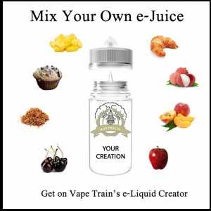 Create Your Own e-Liquid Online - Vape Train's e-Liquid Creator