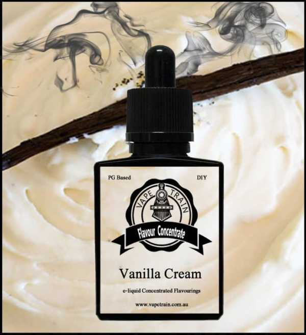 Vanilla Cream Flavour Concentrate DIY for e-Juice Recipe