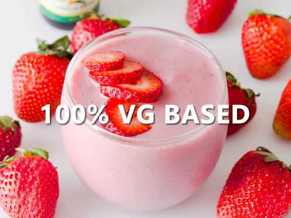 Strawberry Smoothie - 100% VG BASE e-Liquid