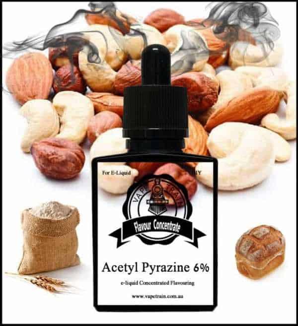Acetyl Pyrazine 6% Concentrate DIY for e-liquid Recipe