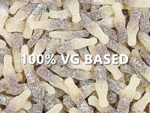 Sour Cola Bottles - 100% VG BASE e-Liquid