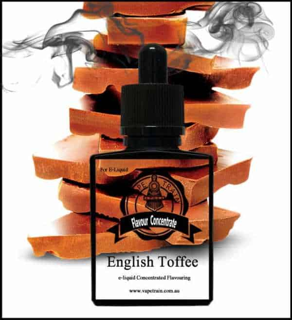 English Toffee Flavour Concentrate DIY for e-Juice Recipe