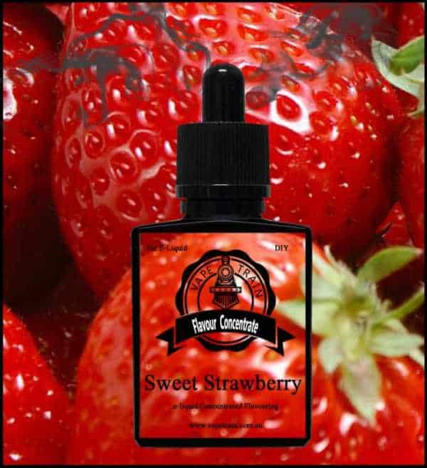 Sweet Strawberry Flavour Concentrate DIY for e-Juice Recipe