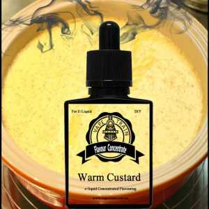 Warm Custard Concentrate DIY for e-liquid Recipe