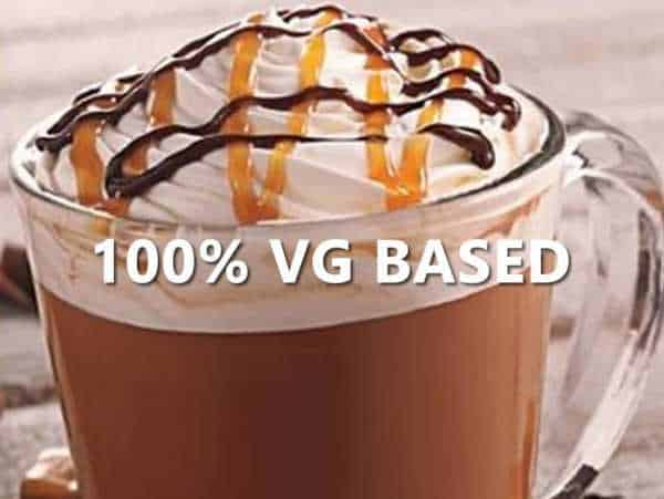 Caramel Mocha - 100% VG BASE e-Liquid