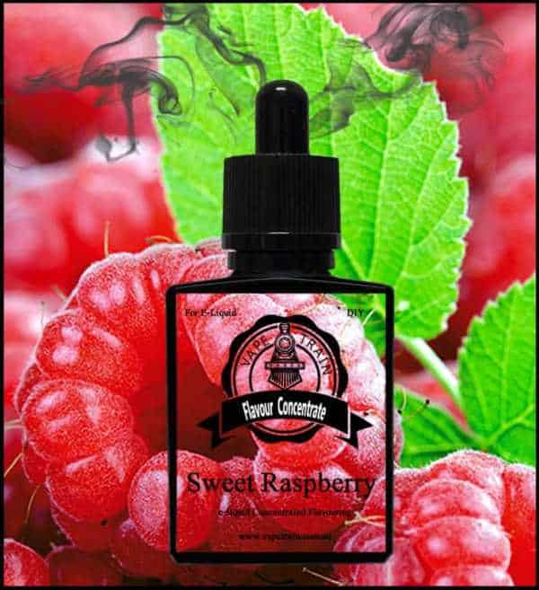 Sweet Raspberry Concentrate DIY for e-liquid Recipe