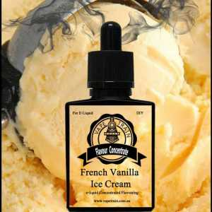 French Vanilla Ice Cream Flavour Concentrate DIY for e-Juice Recipe