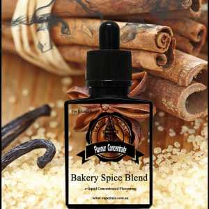 Bakery Spice Blend Concentrate DIY for e-liquid Recipe