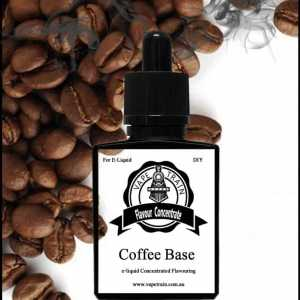 Coffee Base Concentrate DIY for e-liquid Recipe