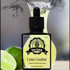 Lime Cordial Flavour Concentrate DIY for e-Liquid Recipe