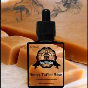 Butter Toffee Base Flavour Concentrate DIY for e-Juice Recipe