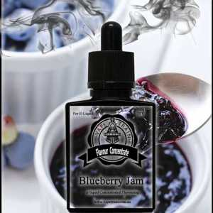 Blueberry Jam Flavour Concentrate DIY for e-Liquid Recipe