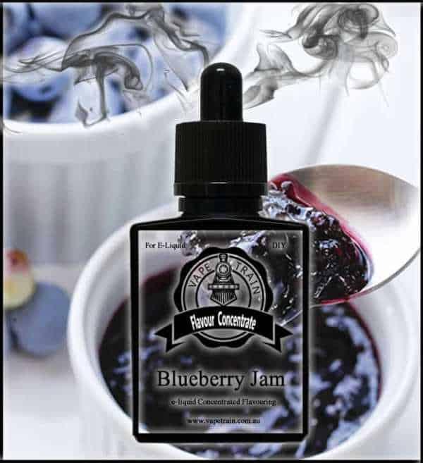 Blueberry Jam Flavour Concentrate DIY for e-Liquid Recipe