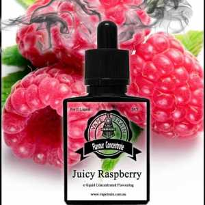 Juicy Raspberry Flavour Concentrate DIY for e-Liquid Recipe