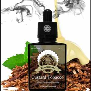 "Custard Tobacco ""One Shot"" Concentrate for e-Liquid Recipes"
