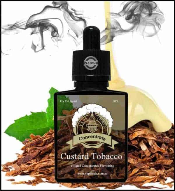 "Custard Tobacco ""One Shot"" Concentrate for e-Liquid Recipes"