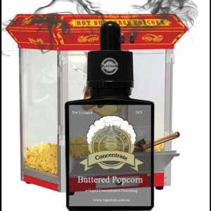 "Buttered Popcorn ""One Shot"" Concentrate for e-Liquid Recipes"