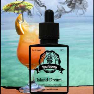 Island Dream Flavoured Concentrate DIY ejuice Flavor