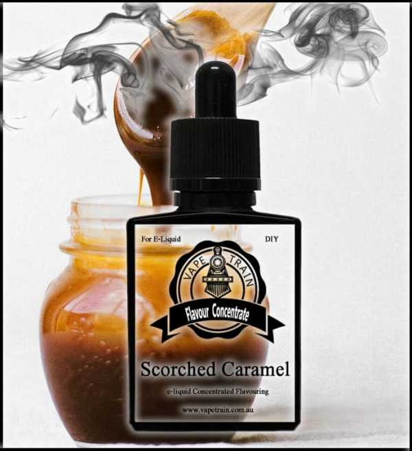 Scorched Caramel DIY Flavor Concentrate eJuice DIY