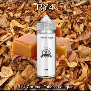 RY4 Caramel Tobacco eliquid Vape ejuice