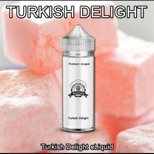 Turkish delight Rose e-liquid