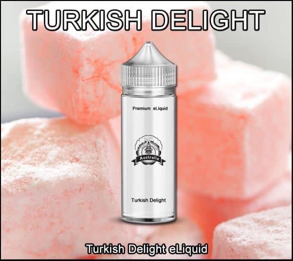 Turkish delight Rose e-liquid